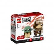 LEGO BrickHeadz Luke Skywalker en Yoda 41627