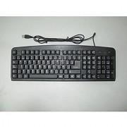 iMicro Basic Spanish Keyboard with 108 Keys Black (KB-US919SB)