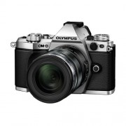Olympus E-M5 II 12-40 PRO Silver srebreni E-M5II 1240 Kit slv/blk Mark EZ-M1240PRO black incl. Charger, Battery Lens Hood Micro Four Thirds OM-D Camera digitalni fotoaparat V207041SE000 V207041SE000
