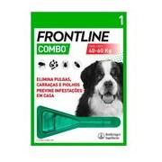 Combo spot on para cães dos 40 aos 60kg 1pipeta - Frontline