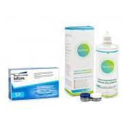 Soflens contactlenzen SofLens 59 (6 lenzen) + Solunate Multi-Purpose 400 ml met lenzendoosje