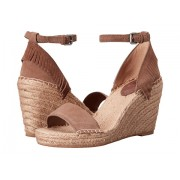 Frye Lila Feather Wedge Grey Oiled Suede