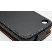 Apple IPhone 3G / 3GS läderfodral (vit / svart)