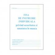 Fisa Instruire Individuala pentru Protectia Muncii A5, 16 File/Carnet - Formular S.S.M