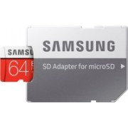 Samsung Evo plus 64 GB SDXC Class 10 100 MB/s Memory Card(With Adapter)