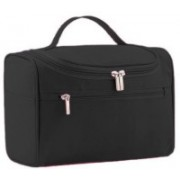GOCART Travel Kit Cosmetic Organizer, Hanging Make Up Shower Bag Shaving Dopp Kit For Men & Women Travel Toiletry Kit(Black)