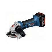 Bosch Meuleuse sans fil GWS 18-125 V-LI solo Click&Go,; L-BOXX - Bosch