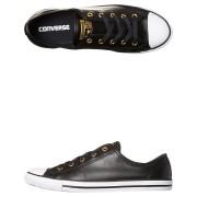 Converse Womens Chuck Taylor All Star Dainty Shoe Black Gold