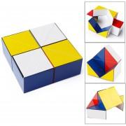 Z7 Rompecabezas De Colores Magic Cube Reverso Infinito Fidget Cubo De Reducción De Presión Juguete Juguete