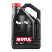MOTUL SPECIFIC 5122 0W-20 5L motorolaj