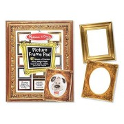 Picture Frame Themed 48-Page Drawing Pad: Art Essentials Series + FREE Melissa & Doug Scratch Art Mini-Pad Bundle [37679]