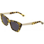 Quay Women's Prove It QU-000743-TORT/BLK Brown Cat Eye Sunglasses