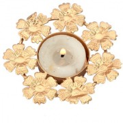 Decorative Flower Shape Design Candle Light Holder Home Decorative Tea Light Holder