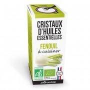 Aromandise Cristaux d'huiles essentielles Fenouil bio 10g