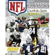 NFL All Stars 2018: The Ultimate Football Coloring, Stats and Activity Book for Adults and Kids!, Paperback