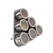 Set condimente cu suport magnetic Grunberg GR327