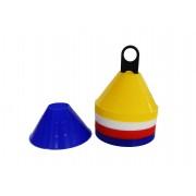 Tactic Sport tányérbója készlet Mini Dome 6,5x14 cm jelölő korong bója szett bottartó bevágás nélkü