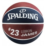 Bola Lebron James Basquete Spalding NBA - Tam. 7