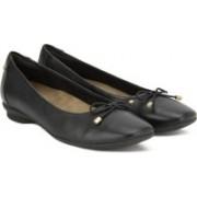 Clarks Candra Light Black Leather Slip on For Women(Black)