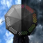 Сменящ Цвета си Чадър за Дъжд