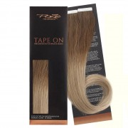Poze Standard Tape On Extensions - 52g Whipped Creme Balayage T6 - 50cm