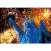 Puzzle fosforescent Dino - Statue of Liberty, 1.000 piese (62973)