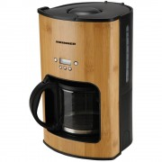 Cafetiera Heinner HCM-BB1080, 1080W, 1.5L, Timer electronic, Bambus