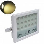 JIAWEN lampara blanca de la iluminacion de la pared de la inundacion de 20W LED (AC 85 ~ 265V)