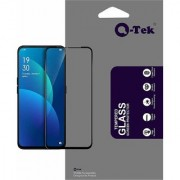 QTek Full Glass Edge to Edge scratchproof Tempered Glass for Oppo F11 with Free Installation kit