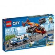 LEGO City Police Furtul diamantelor cu politia aeriana 60209 pentru 6+