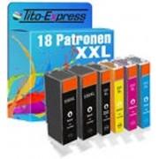 Tito-Express PlatinumSerie PlatinumSerie® Set 18x inktcartridge XXL voor Canon PGI-550XL & CLI-551XL Canon Pixma IP7250 MG5450 MG6350 MX725 MX925