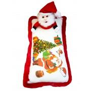 Grabadeal Santa Christmas Cushion Stuffed Soft Toy