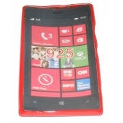 Силиконов гръб ТПУ за Nokia Lumia 925 Червен