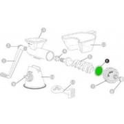 Pótalkatrész kézi préshez - szilikon tömítő gyűrű előre