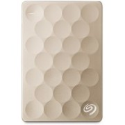 Seagate 1 TB Wired External Hard Disk Drive(Gold, Mobile Backup Enabled)