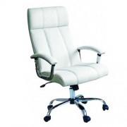 Kancelarijska fotelja 6331 Bela
