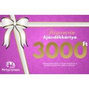 Fittprotein Online Ajándékkártya Nőknek 3000Ft értékben