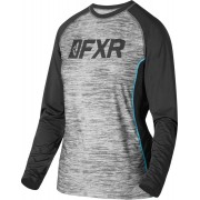 FXR Helium X Tech Camisa Funcional de Damas Negro Gris XL