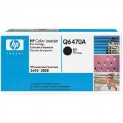 HP Color LaserJet 3800 Print Cartridge, black (Q6470A)