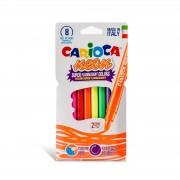 Carioci fluorescente 8 culori cutie - CARIOCA