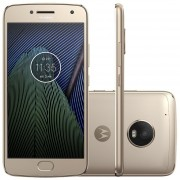"Smartphone Moto G5 Plus 32GB 5.2"" Full HD OC12MPX Single Sim Dorado"