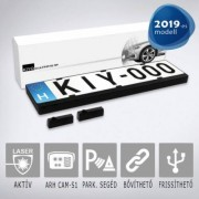 KIYO D Ultimate AP 2 (2 db, rendszámkeretbe építhető szenzort tartalmazó aktív lézeres jelzőkészülék)