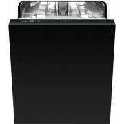 Smeg DISD13 Built In Fully Integrated Dishwasher - Black