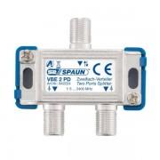 Spaun VBE 2 PD Unicable 2 Fach BK Verteiler / Splitter