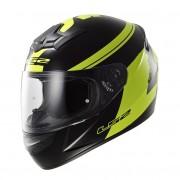 Ls2 Moto Přilba Ls2 Ff352 Rookie Fluo Black-Hi-Vis Yellow Xxl (63-64)