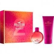 Hollister Wave 2 lote de regalo I. eau de parfum 100 ml + crema corporal 200 ml