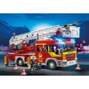 Playmobil Camión de Bomberos y Escalera con Luces y Sonido