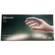 MERCATOR LATEX rukavice L pudrované