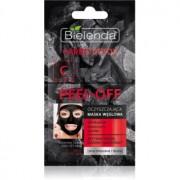 Bielenda Carbo Detox Active Carbon mască facială de acoperire cu cărbune activ pentru ten gras și mixt 2 x 6 g