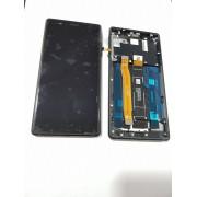 Ecran Display cu rama Nokia 3 Negru Original pt single sim